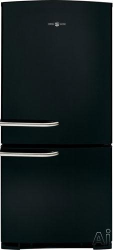 GE Artistry Series ABE20EGEBS 20.3 cu. ft. Bottom-Freezer Refrigerator with 2 Glass Shelves, Gallon, U.S. & Canada ABE20EGEBS