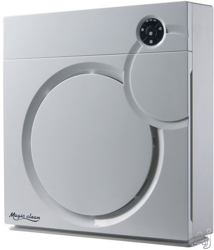 Sunpentown AC7014 115 CFM Air Purifier with Ion Flow Technology, Antibacterial Pre-Filter, HEPA, Activated Carbon, TiO2 and UV Light AC7014