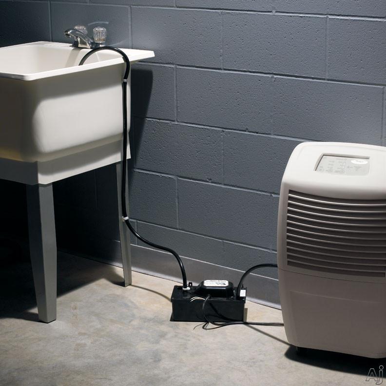 per day ultra low temp basement dehumidifier with electronic controls
