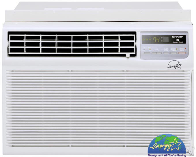 Sharp Afs50dx 5000 Btu Library Quiet Compact Window Air Conditioner W Remote