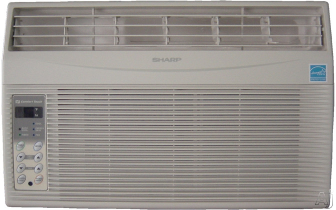Sharp Electronics - Sharp AFS60NX 6,000 BTU Room Air Conditioner With Electronic Controls 4-Way Air Direction 159 CFMs And 250 Sq Ft Cooling Area