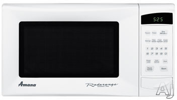 Amana AMC4080AAW 0.8 Cu. Ft. Radarange Countertop Microwave Oven with 800 Cooking Watts, 10 Power Levels and Under-Cabinet Mounting Kit: White
