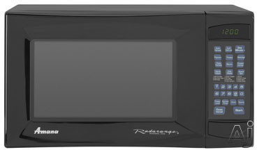 Amana AMC5101AA 1.0 cu. ft. Countertop Microwave Oven with 1,000 Cooking Watts and Control Lockout