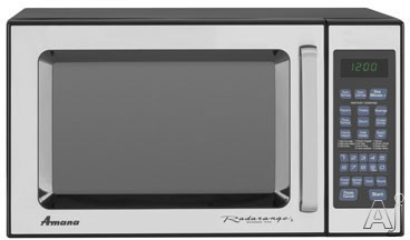 Amana AMC5101AAS 1.0 cu. ft. Countertop Microwave Oven with 1,000 Cooking Watts and Control Lockout: Stainless Steel