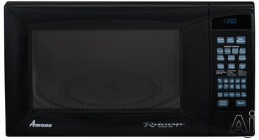 Amana AMC5143AA 1.4 cu. ft. Countertop Microwave Oven with 1,100 Cooking Watts and 8 Sensor Programmed Pads