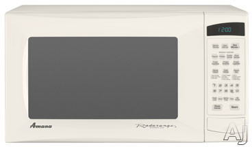 Amana AMC5143AAQ 1.4 cu. ft. Countertop Microwave Oven with 1,100 Cooking Watts and 8 Sensor Programmed Pads: Bisque