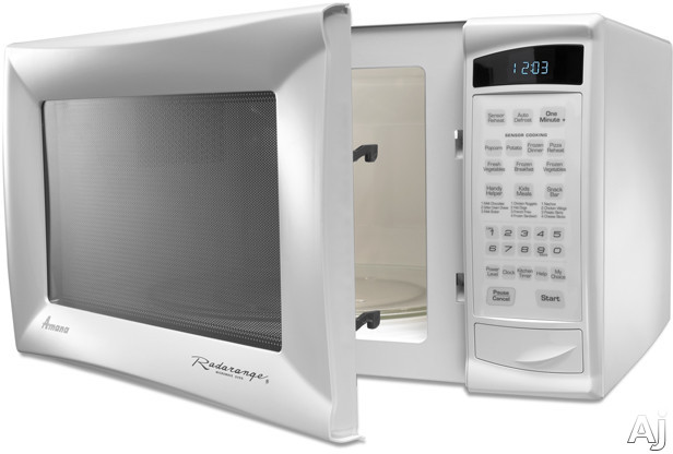 Amana Countertop Convection Oven : Amana AMC6158BAW 1.5 cu. ft. Countertop Microwave Oven with 1,000 ...