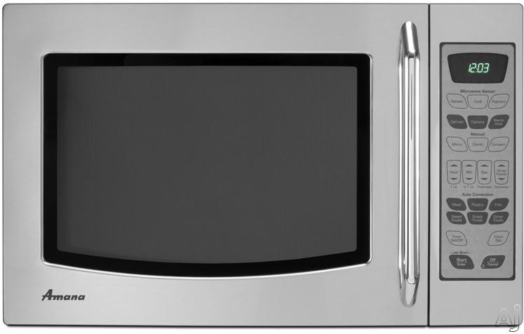 Amana Countertop Convection Oven : Amana AMC7159TAS 1.5 cu. ft. Countertop Microwave Oven with 1,000 ...