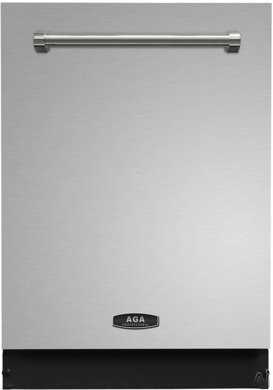 AGA Professional Series AMPROTTDWSS 24 Inch Built In Dishwasher with Smartsoil Sensor Third Rack Smart Clean Light Steamware Grips Easy Lift Racks Wave Touch Controls 15 Place Settings 6 Cycles Stainl