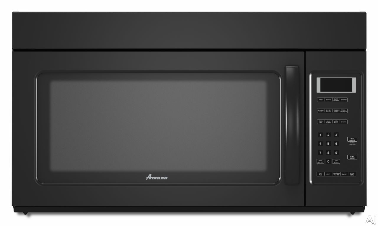 Amana 2 0 cu ft over the range microwave in white with sensor - Amana Amv2175c 1 7 Cu Ft Over The Range Microwave Oven