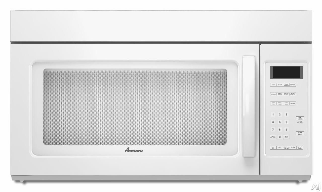 amana amv2175c 1 7 cu ft over the range microwave oven. Black Bedroom Furniture Sets. Home Design Ideas