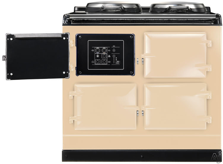 "AGA Total Control ATC3CRM 39"" Cast-Iron Electric Range with 3 Large Ovens, 2 Hotplates, 10 Cooking, U.S. & Canada ATC3CRM"