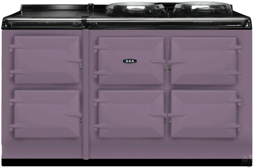 """AGA Total Control ATC5HEA 48"""" Cast-Iron Electric Range with 5 Large Ovens, 2 Hotplates, Warming, U.S. & Canada ATC5HEA"""