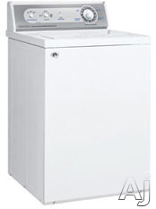 "Washers - Speed Queen AWS51NW 26"" Top Load Washers With 3.3 Cu Ft Capacity 3-Wash/Rinse Selectors 17 Cycles Hush Pak Automatic Pre-Wash Cycle & 2-Speed Motor"