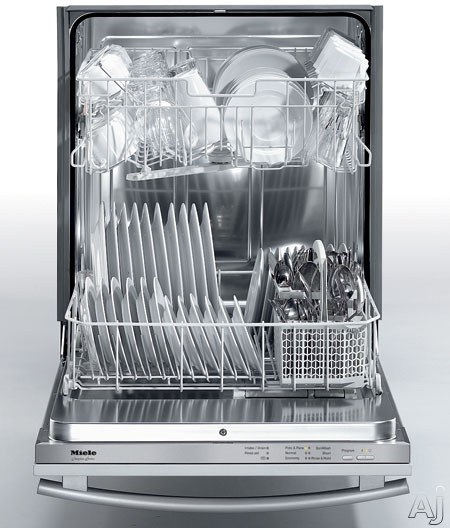 Miele Advanta Series G2170SFSS Fully Integrated Dishwasher With 6 Wash Programs MaxSpace Stainless Steel Interior & Standard Cutlery Basket Stainless Steel