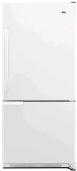 Bottom Freezer Refrigerator with Adjustable Glass Shelves, EasyReach...