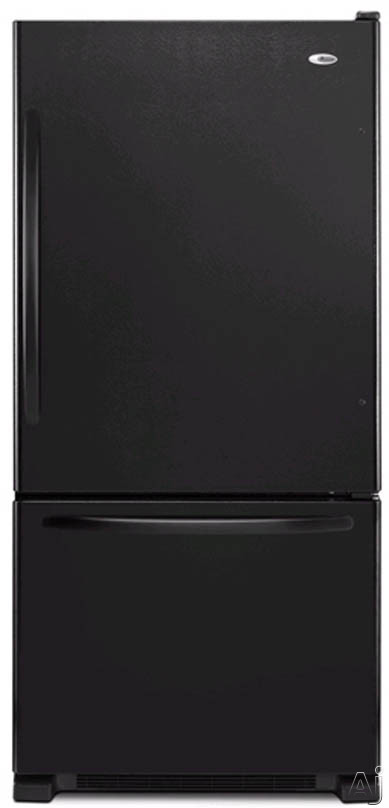 21.9 cu. ft. Bottom Freezer Refrigerator-Black