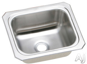 "Elkay Celebrity Collection BCFR1315 13"" Top Mount Single Bowl Stainless Steel Bar Sink with 20-Gauge, 2"" Drain Opening and Self-Rim"