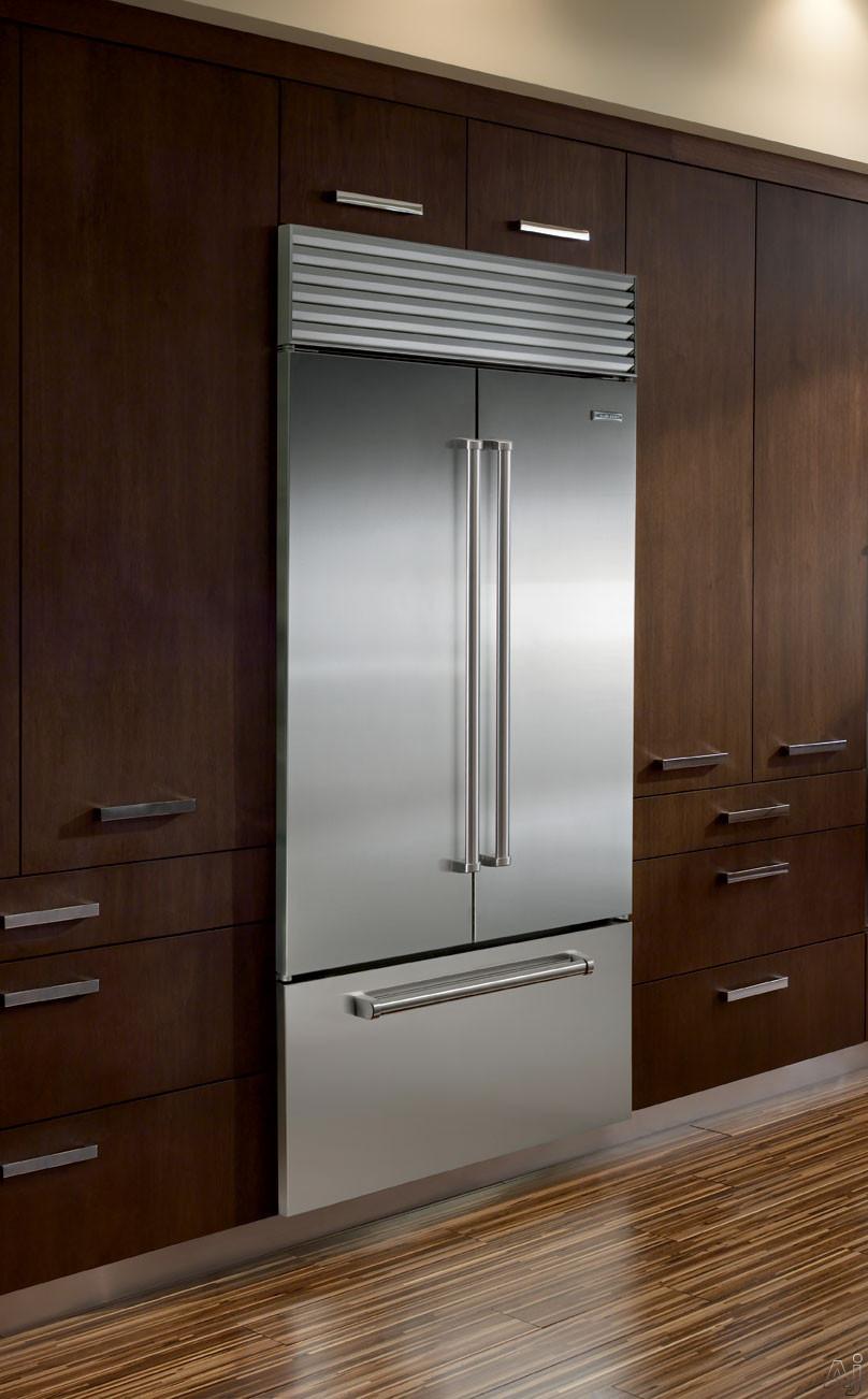 Sub Zero Bi36ufd 36 Quot Built In French Door Refrigerator