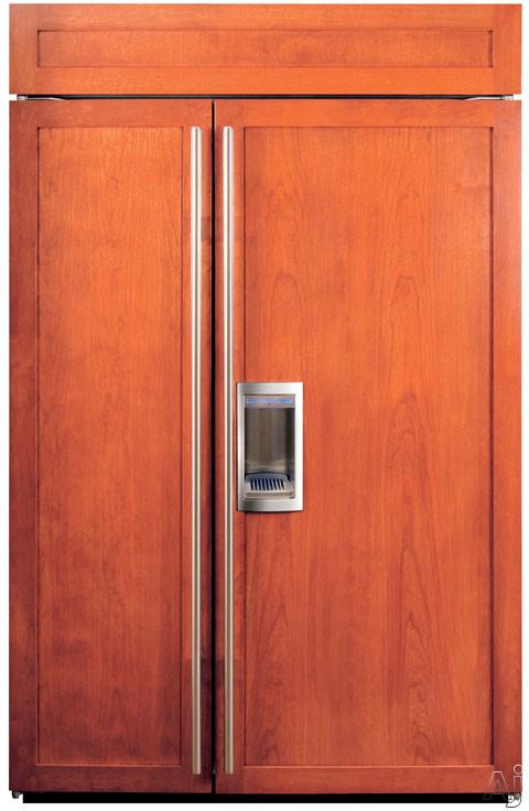 Sub Zero Bi48sdo 48 Quot Built In Side By Side Refrigerator