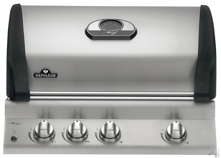 """Napoleon Mirage Series BIM485RBPSS1 30"""" Built-in Gas Grill Head with 675 sq. in. Total Cooking, U.S. & Canada BIM485RBPSS1"""