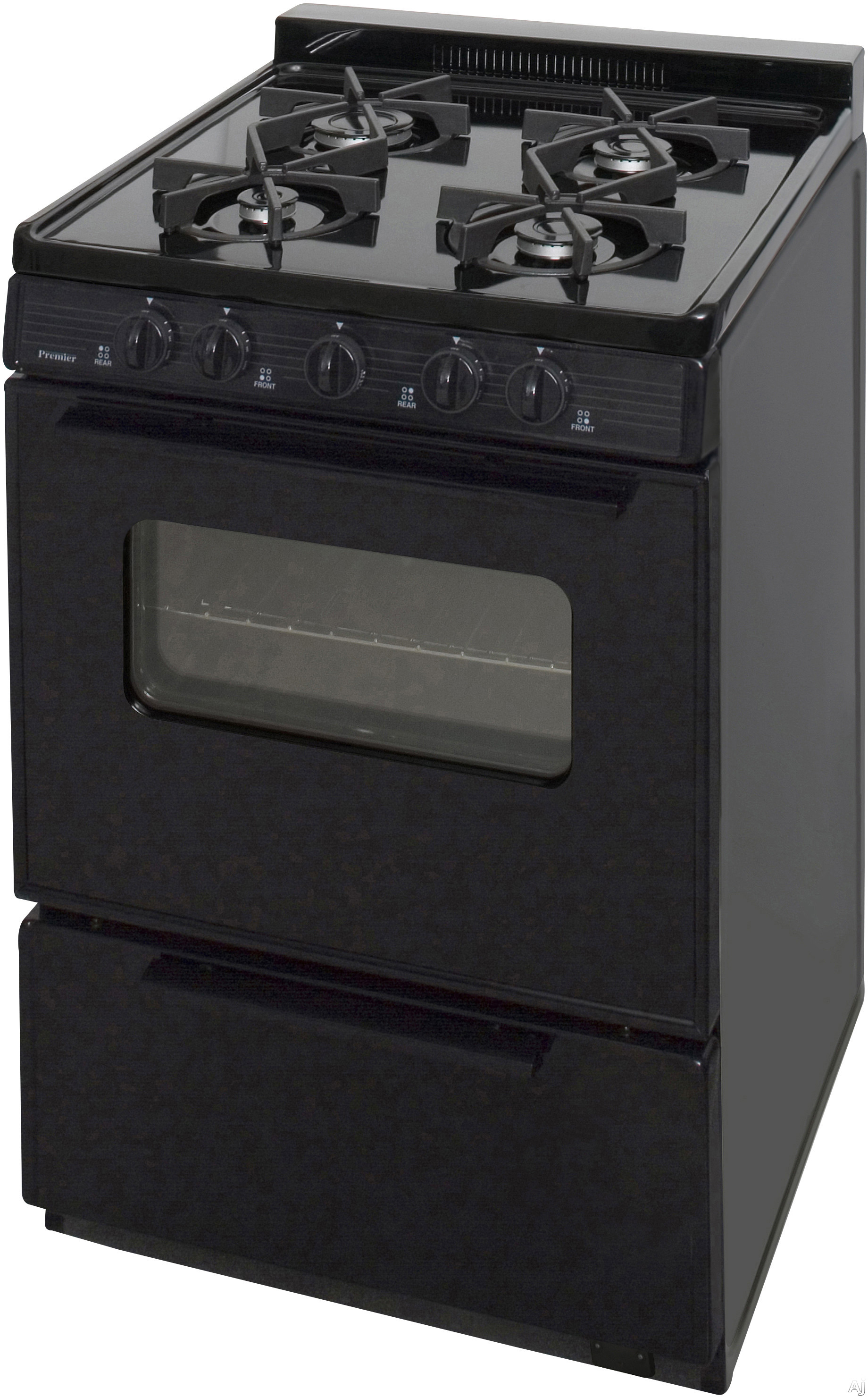 Premier bjk5x0xp 24 freestanding cordless gas range with for 17000 btu window air conditioner