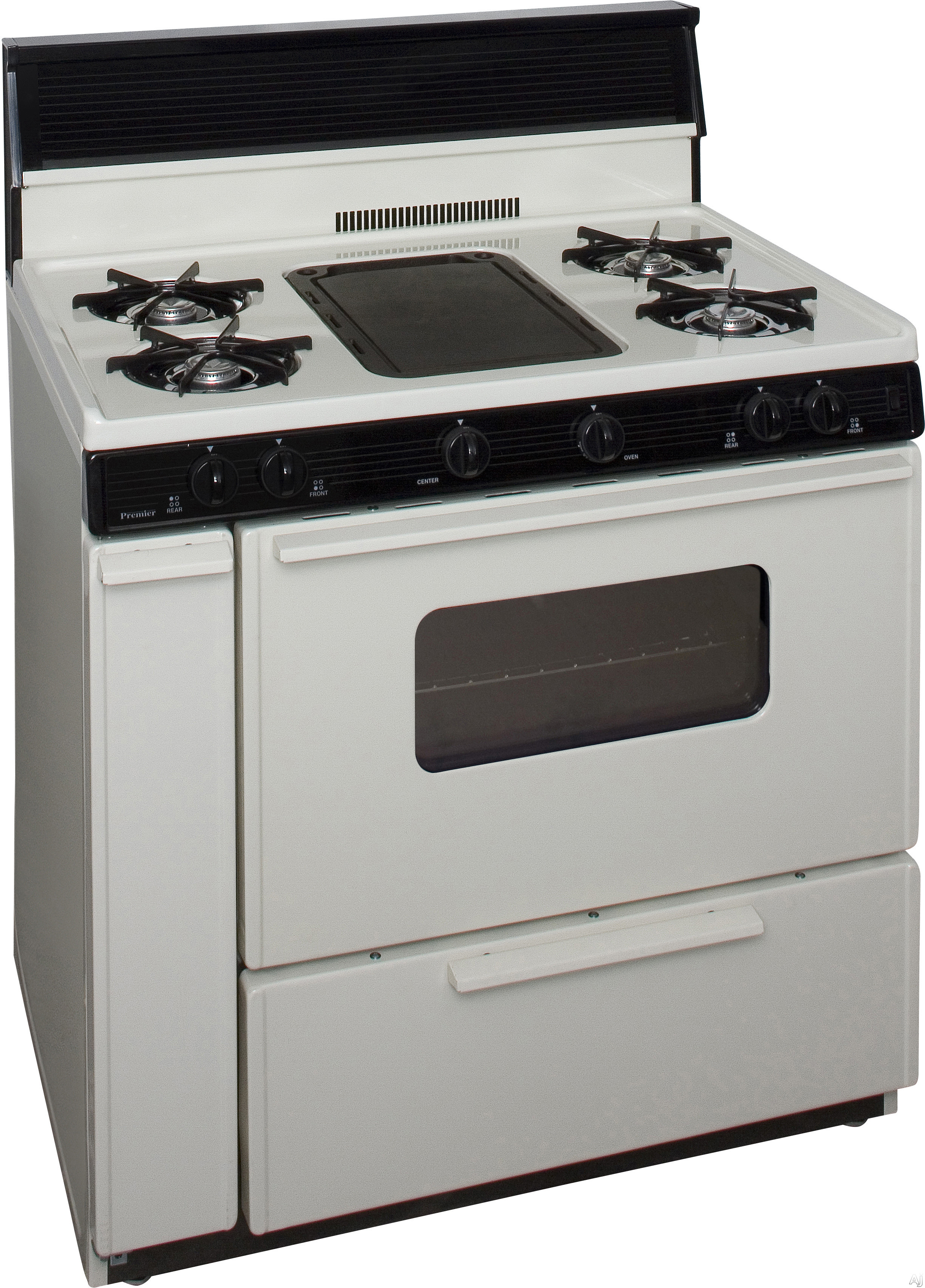 Premier blk5s9tp 36 inch freestanding gas range with 5 for 17000 btu window air conditioner