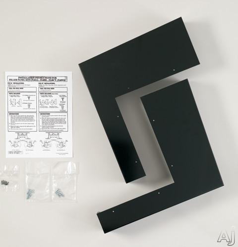 GE JX48BL Over-the-Range Microwave Filler Panel Kit: Black, U.S. & Canada JX48BL