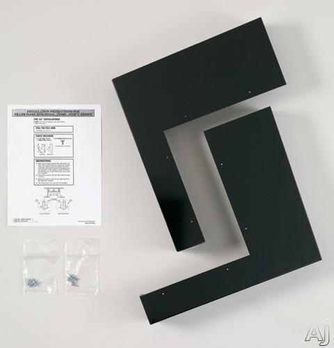 GE JX52BL Over-the-Range Microwave Filler Panel Kit: Black, U.S. & Canada JX52BL