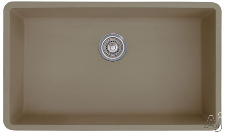 "Blanco Precis 441297 32"" Undermount Single Bowl Granite Sink with 9-1 / 2"" Bowl Depth, 80% Solid, U.S. & Canada 441297"