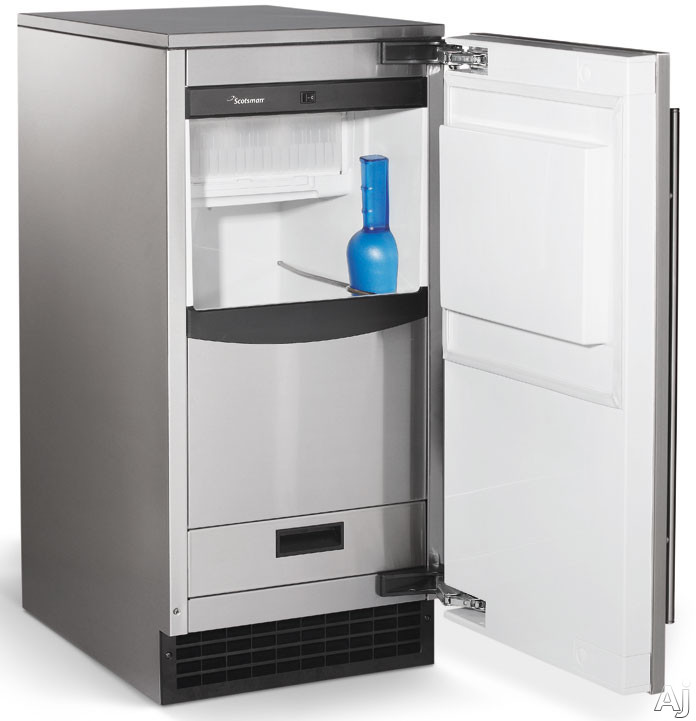 Scotsman Sccp30ma1su 15 Under Counter Ice Maker With 26
