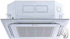 Friedrich C24YJ 24,000 BTU Single Zone Ceiling Cassette Ductless Split System with 27,000 BTU Heat Pump, 12.5 EER, 17.0 SEER and R410A Refrigerant (MC24Y3J Indoor/MR24UY3J Outdoor) C24YJ