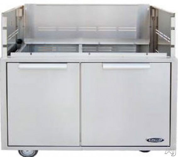 """DCS CAD30 30"""" Stainless Steel Grilling Cart, U.S. & Canada CAD30"""