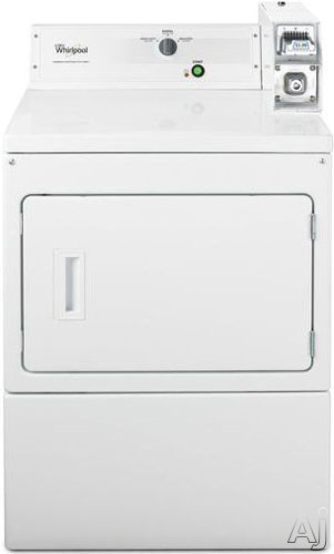 "Whirlpool CEM2743BQ 27"" Electric Dryer with 7.4 cu. ft. Capacity, 3 Dry Cycles, Single Operating, U.S. & Canada CEM2743BQ"