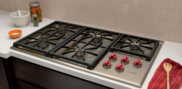 Wolf Cg365ps 36 Quot Professional Gas Cooktop With 5 Dual