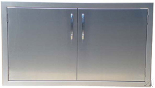 Capital Outdoor Precision Series CG30ADS 30 Inch Stainless Steel Horizontal Double Access Door