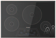 Thermador Masterpiece Series CIT304KBB 30 Inch Induction Cooktop with 4 Elements, PowerBoost, 17 Power Settings, Keep Warm Function, Auto Shut-Off Timer and Anti-Overflow System: Black with Frameless