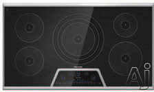 "Thermador Masterpiece Series CIT365KB 36"" Induction Cooktop with 5 Elements, 4,600W Triple Element, U.S. & Canada CIT365KB"