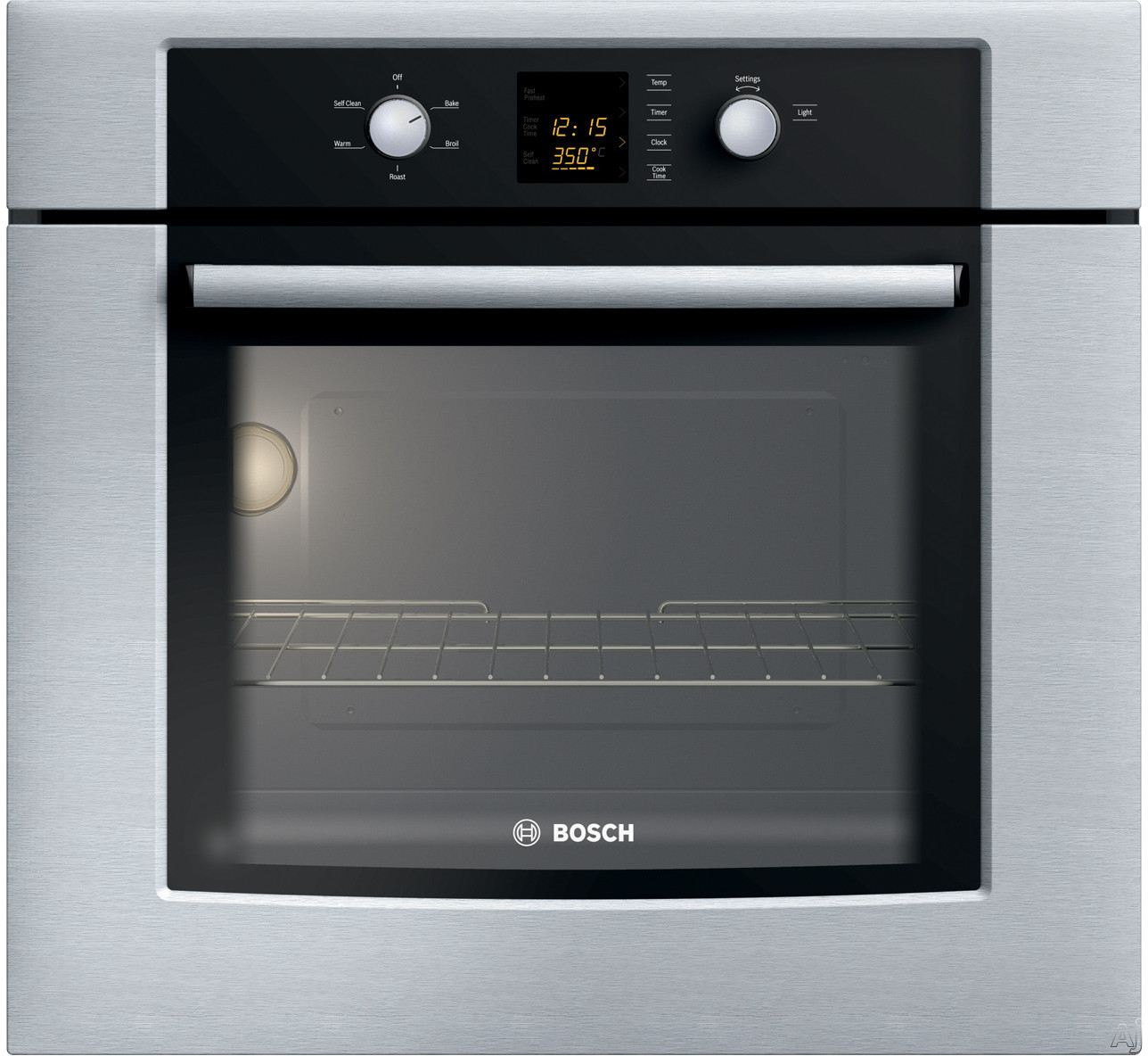 "Bosch 300 Series HBL330UC 30"" Electric Wall Oven with 4 Cooking Modes and Glass Touch & Knob, U.S. & Canada HBL330UC"