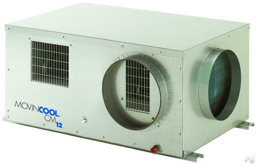 Movincool CM12 10,500 BTU Ceiling Mounted Packaged Air Conditioner with Standard Internal Pump and, U.S. & Canada CM12