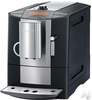 Miele CM5200 11 Inch Countertop Whole Coffee Bean System with 4 Programmable Cup Sizes, Coffee Strength Selectable, Electronic Steam Valve, Integrated Cup Warmer and Automatic Cleaning Program CM5200