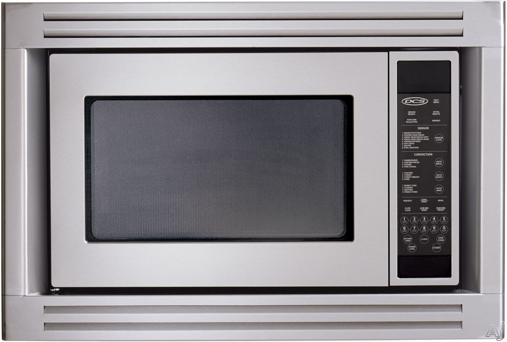 Countertop Microwave Oven With Trim Kit : DCS CMOS24 1.5 cu. ft. Countertop Microwave Oven with 900 Cooking ...