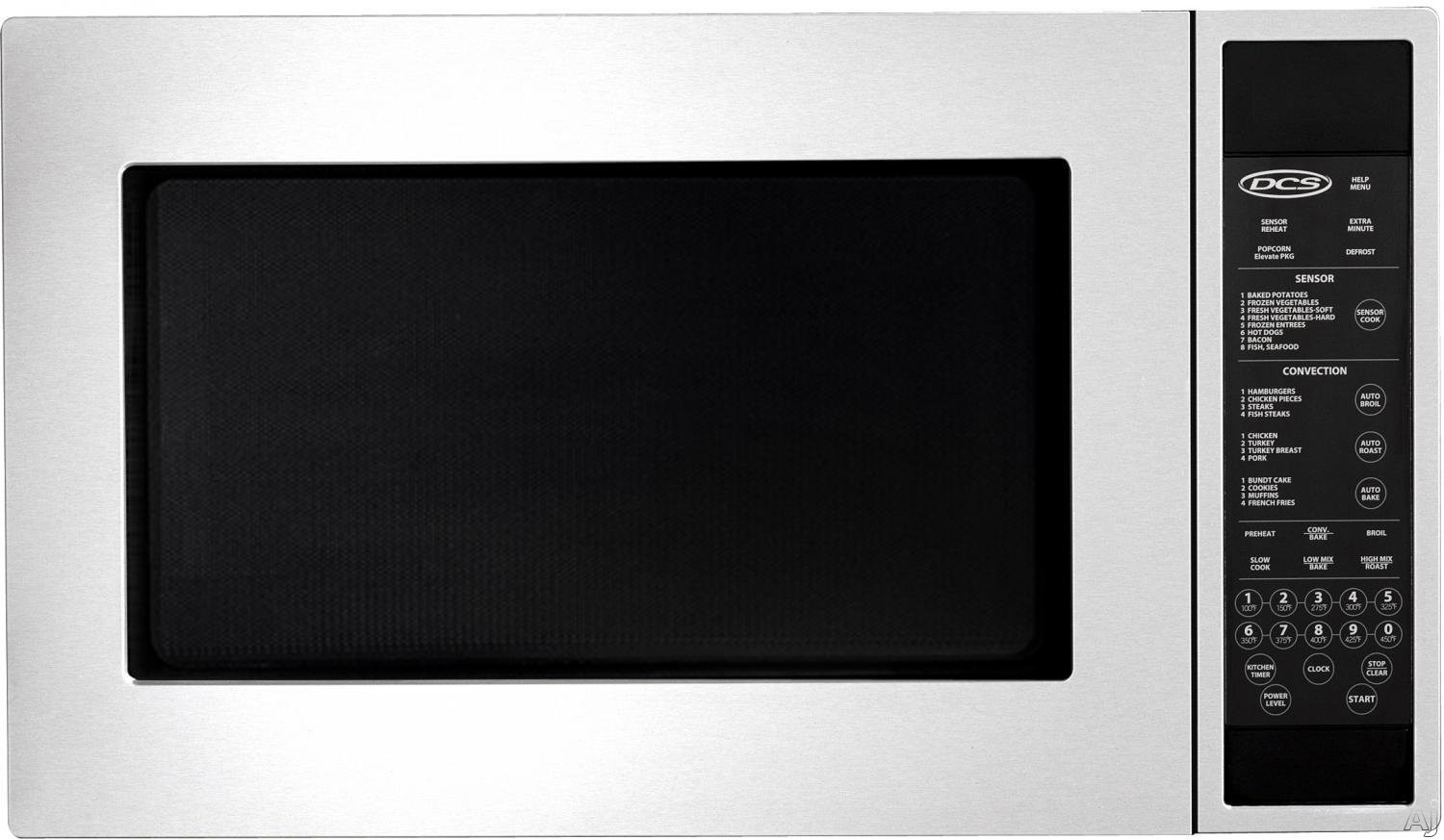 Fisher & Paykel CMO24SS2 1.5 cu. ft. Countertop Microwave Oven with 1,450 Watt Convection Element, U.S. & Canada CMO24SS2