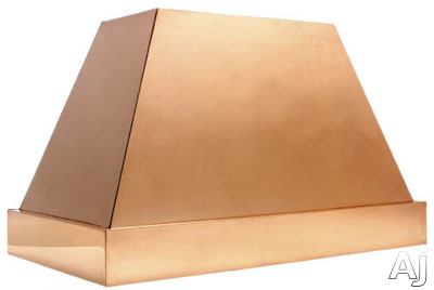 Copperworks Modernist Series JS330CHL38 30 Inch Wall Mount Range Hood with 300 CFM Internal Blower, Heavy Copper Texture and Light Brown Patina Finish: 38 in. High for 9 ft. Ceiling