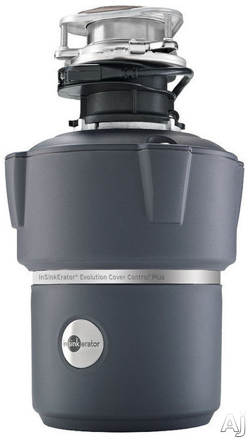 InSinkErator Evolution Series COVERCONTROLPLUS 3 4 HP Batch Feed Waste Disposer with 1725 RPM Motor SoundSeal MultiGrind Technology 40 Ounce Stainless Steel Grind Chamber and 7 Year In Home Service Warranty