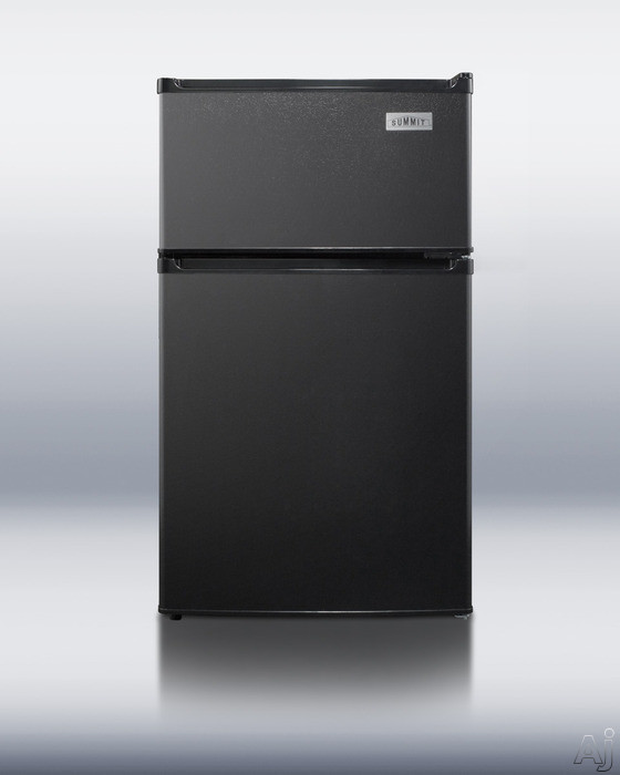 Summit CP35B 2.9 cu. ft. Compact Top Freezer Refrigerator with Manual Defrost, Dual Evaporator, U.S. & Canada CP35B