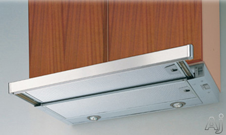 Cristal 24 SS Under-Cabinet Slide-Out Hood
