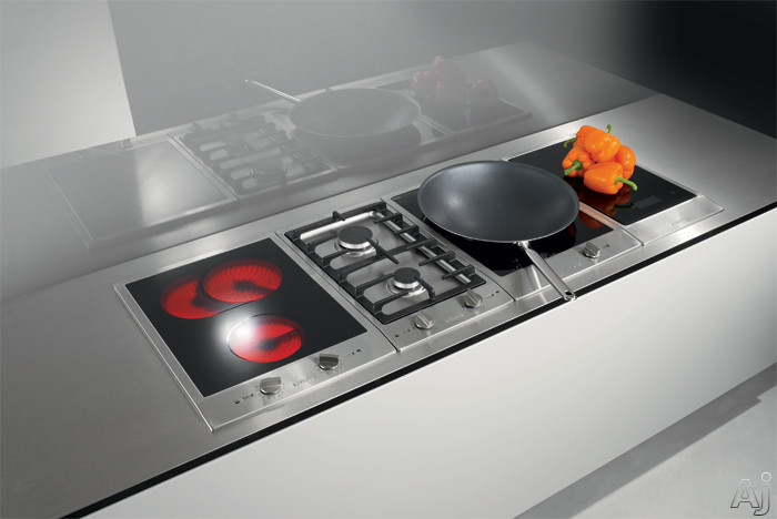 Miele cs1122e 15 ceramic double burner electric cooktop for Plaque induction zone libre
