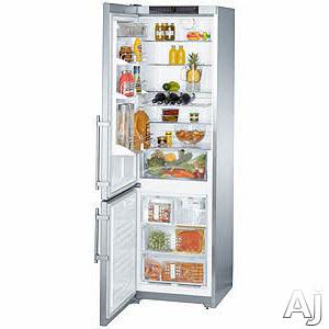 Liebherr CS1361 13 cu. ft. Counter-Depth Bottom-Freezer Refrigerator with 4 Glass Shelves, 3 Freezer, U.S. & Canada CS1361