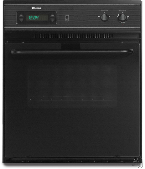 "Maytag CWE4100ACB 24"" Single Electric Wall Oven with 2.8 cu. ft. Manual Clean Oven, Precision, U.S. & Canada CWE4100ACB"